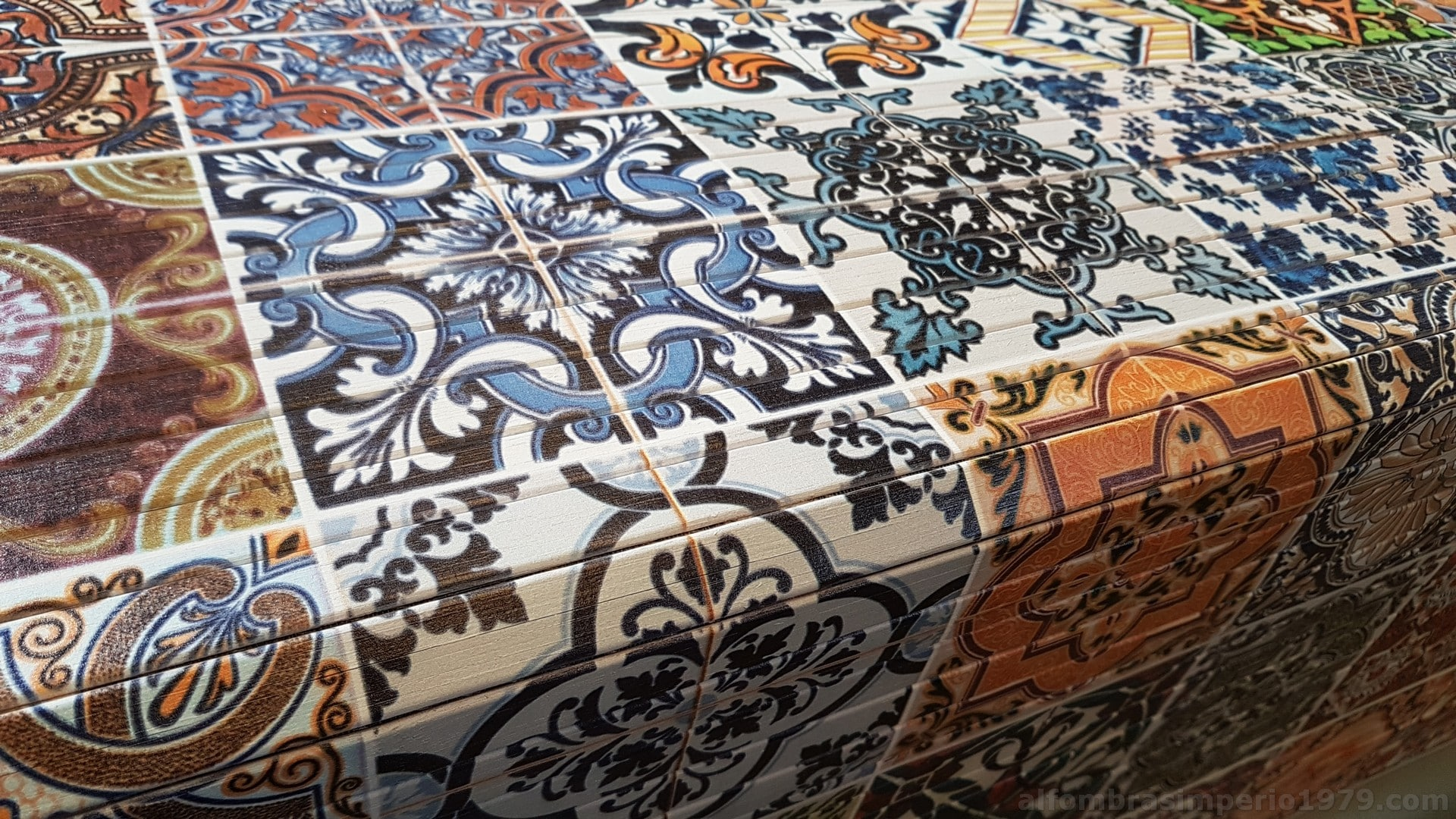 Alfombra a medida bambu impreso hidra1 alfombras a medida for Valor alfombra