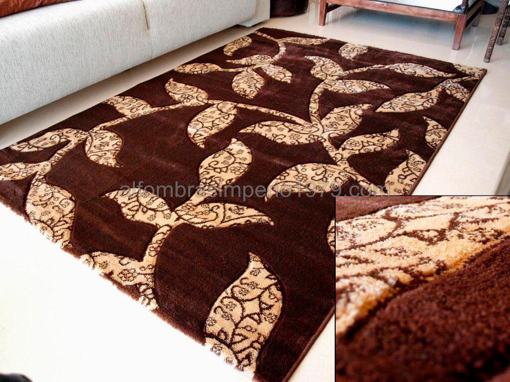 Alfombra moderna artmix 1075 brm bej alfombras baratas for Alfombras clasicas baratas