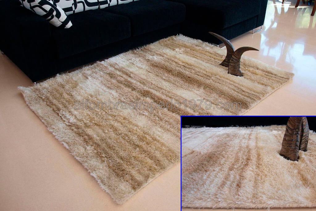 Alfombras de pelo alto brillos brisa 4 alfombras baratas moderno - Alfombras de pasillo baratas ...