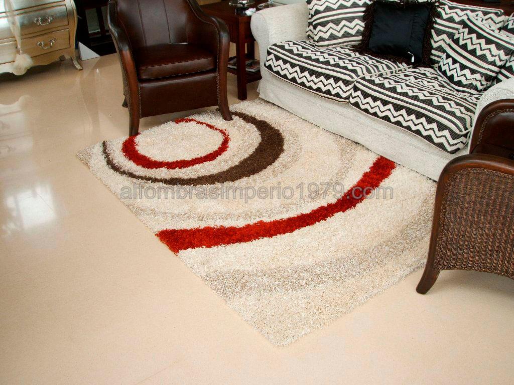 Alfombra moderna crevillente art1 rojo alfombras modernas - Alfombras juveniles modernas ...