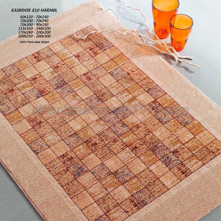 Alfombra lana moderna kashimir 810 marmol alfombras - Alfombras lana modernas ...