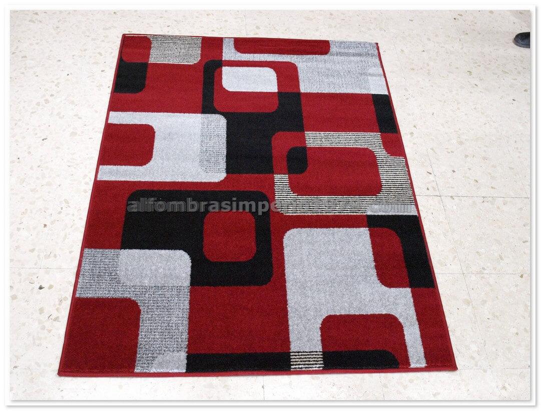 Alfombra moderna crevillente art1 rojo alfombras modernas - Alfombras en crevillente ...