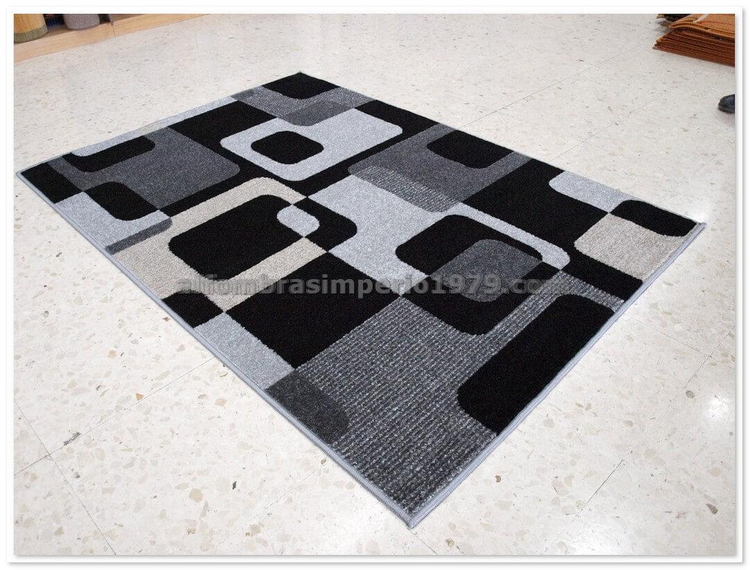 Alfombra crevillente art1 gris alfombras modernas - Alfombras crevillente ...
