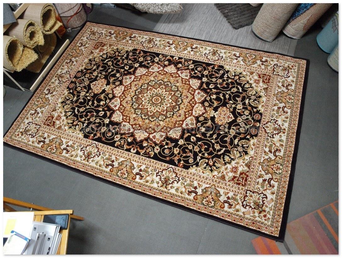 Alfombra clasica terra 175 6 marron alfombras clasicas for Alfombras clasicas baratas