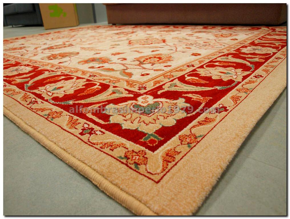 Alfombra de lana clasica atare 708 beig alfombras - Alfombras clasicas de lana ...