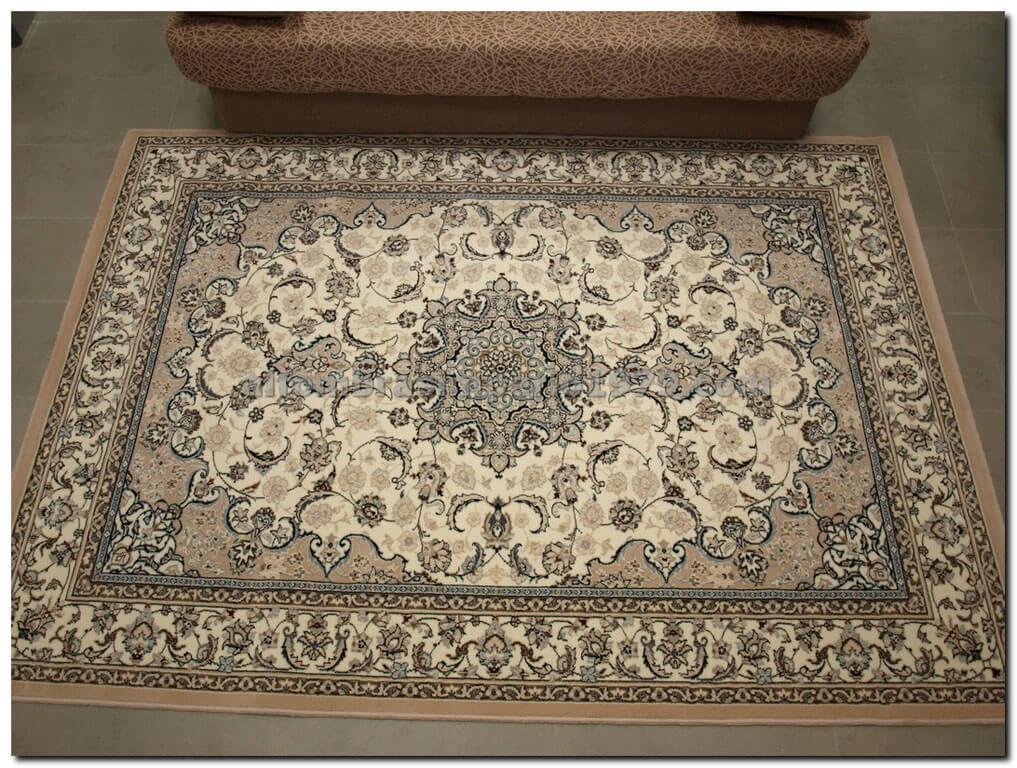 Alfombra de lana clasica nain 851 b alfombras clasicas for Alfombras clasicas baratas