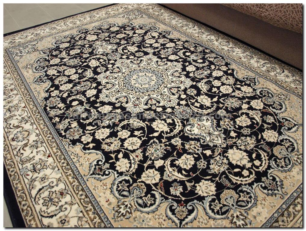 Alfombra de lana clasica nain 851 a alfombras clasicas for Alfombras clasicas baratas