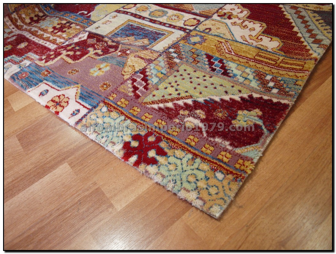Alfombra patchwork lana a medida alfombras a medida for Alfombras online modernas