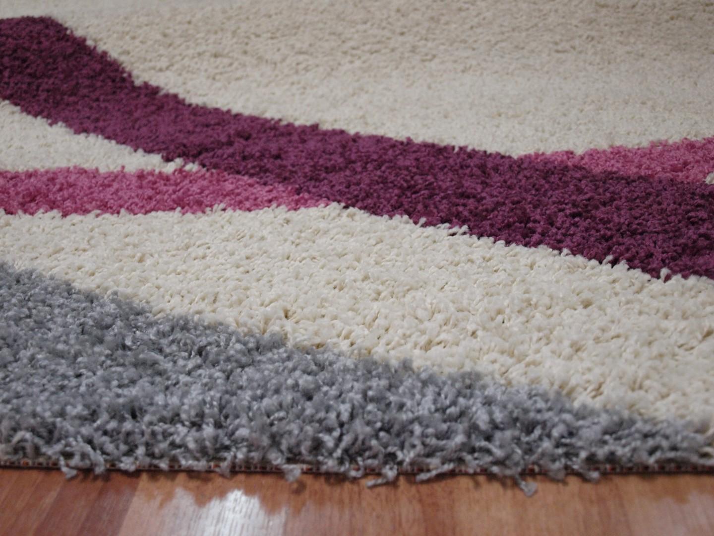 Alfombra de pelo norge 8521 blanco alfombras baratas moderno - Alfombras de pasillo baratas ...
