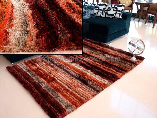 Alfombras de pelo alto brisa 3 alfombras baratas moderno for Alfombras precios m2