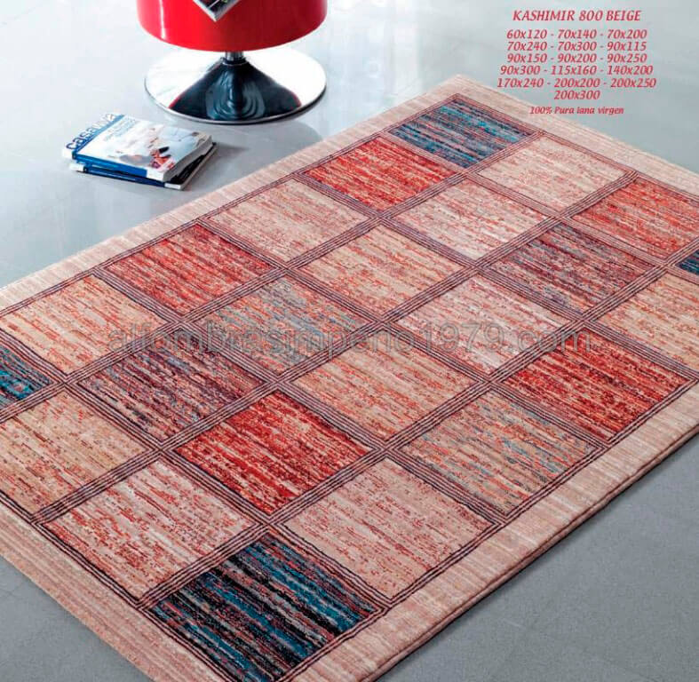 Alfombra lana moderna kashimir 800 beige alfombras modernas lana 10 - Alfombras lana modernas ...