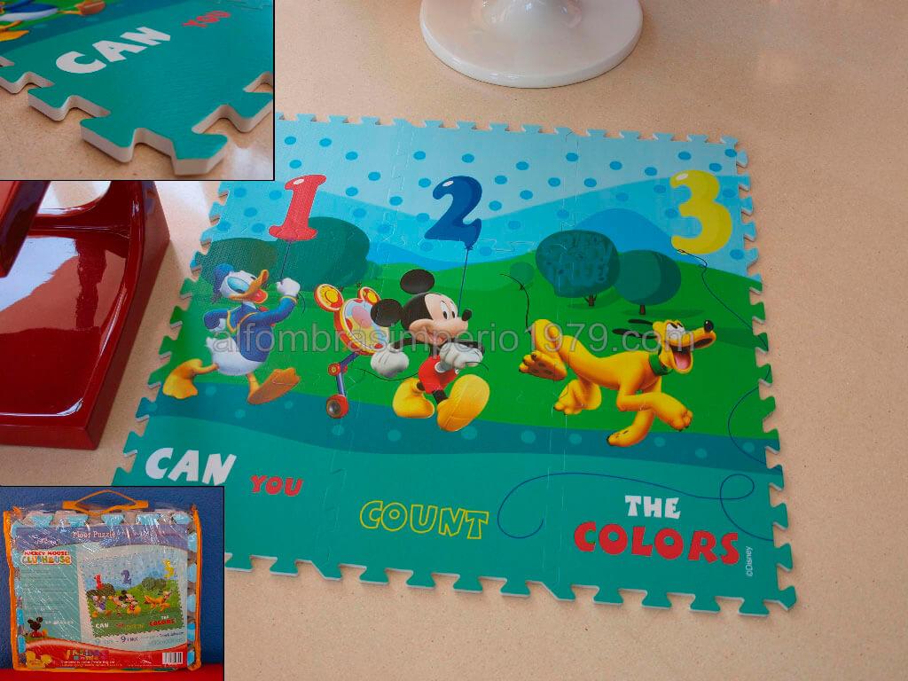 Alfombra infantil puzle disney amiguitos alfombras infantiles - Alfombras infantiles disney ...