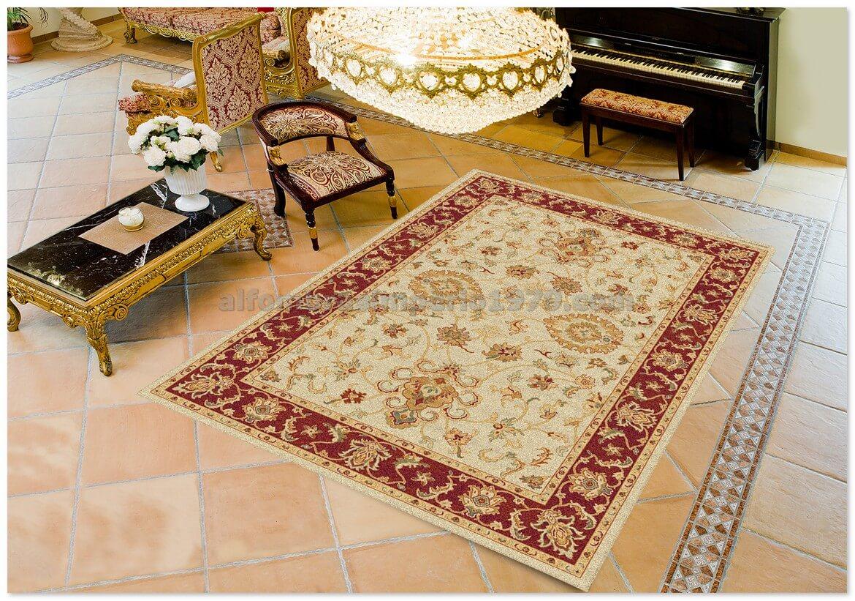 Alfombra clasica terra 136 2 beig alfombras clasicas for Alfombras clasicas baratas