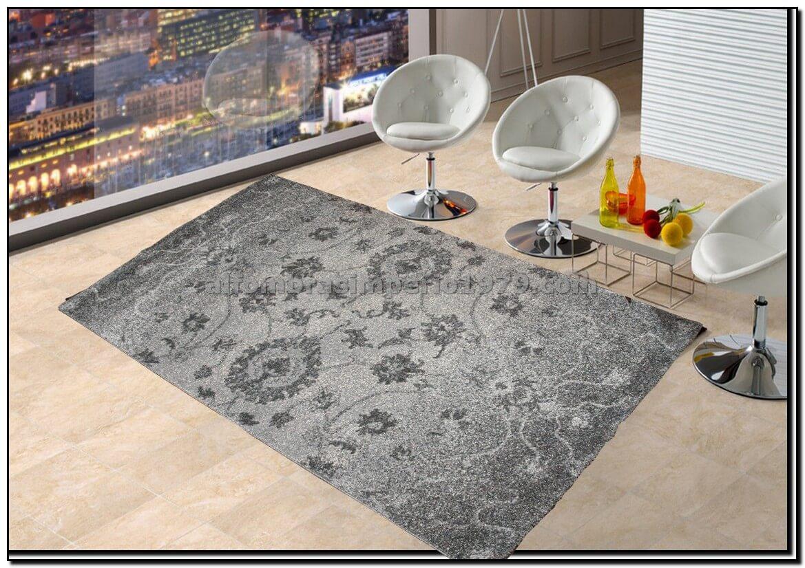 Alfombra rebajada millenium 9533 gris alfombras baratas for Alfombras clasicas baratas