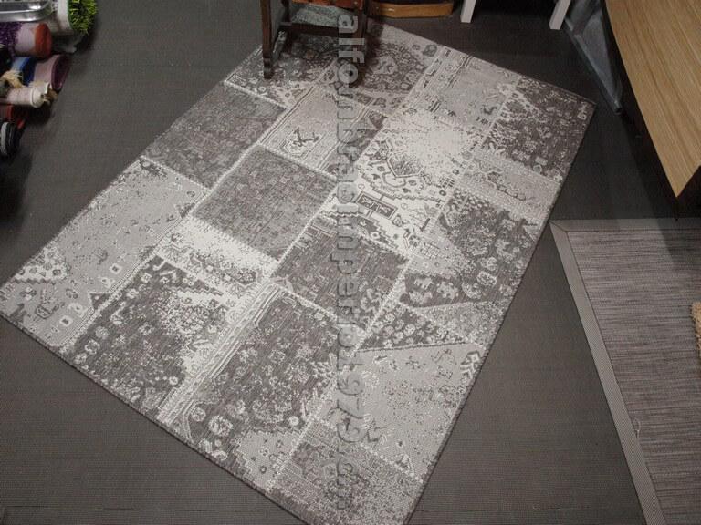 Alfombra patchwork rustica celia 2482 e alfombras modernas - Alfombra patchwork ...
