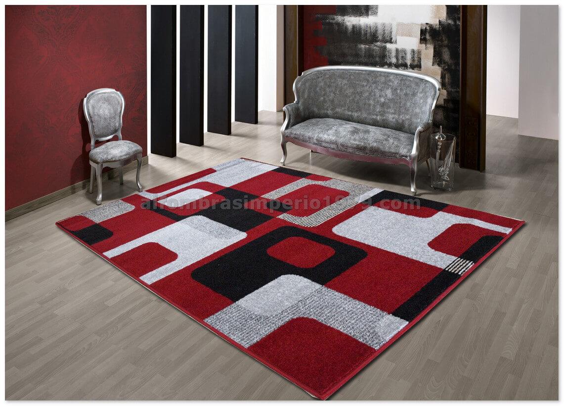 Alfombra moderna crevillente art1 rojo alfombras modernas for Imagenes alfombras modernas