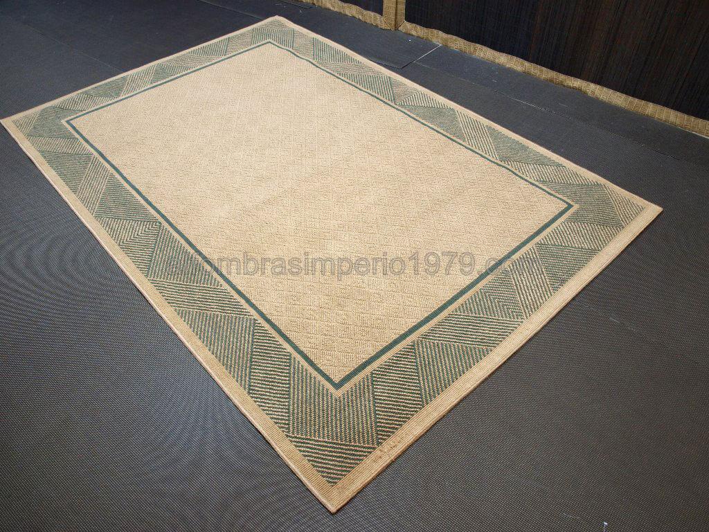 Alfombra de yute 1 alfombras outlet colonial rustico for Alfombra yute barata