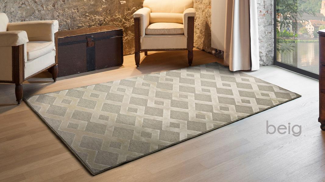 Alfombra lana moderna isabella 624 alfombras modernas lana 100 - Alfombras lana modernas ...