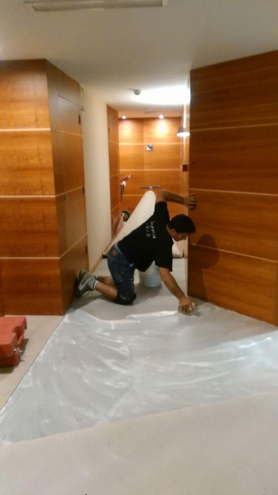 Instalacion Moqueta Hotel Rincox Deloix