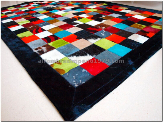 Patchwork Piel Multi Color-10x10-conbord