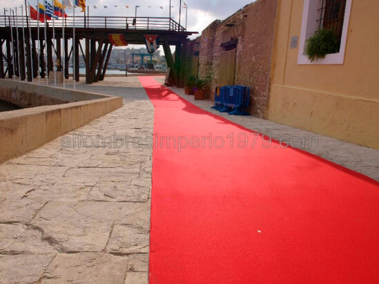 Instalacion Moqueta Ferial