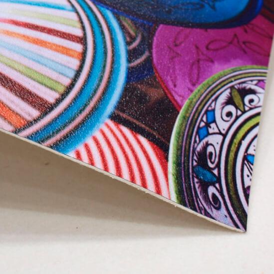 Alfombra Impresa Vinilprit barros colores1006