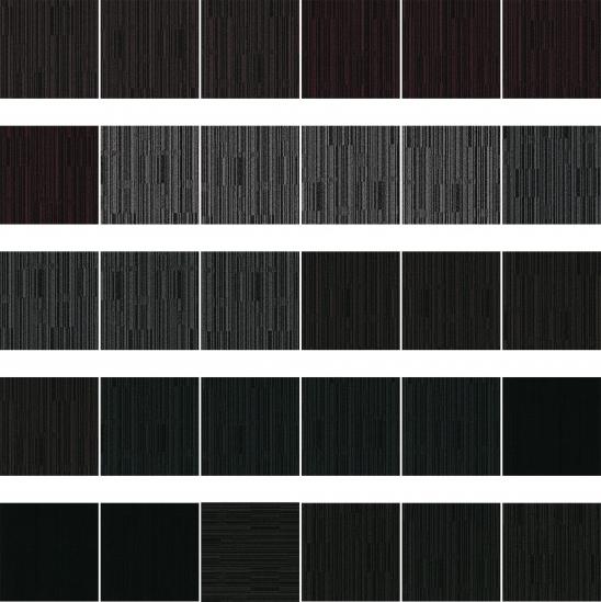 Moqueta en Losetas Black&