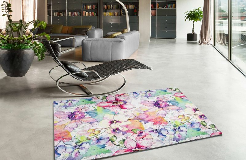 Alfombra Motivos Florales Bouquet 95 Multi